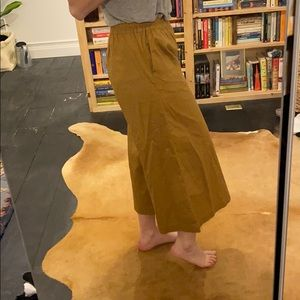 ⭐️BOGO50⭐️ Wide Leg Coulottes/Ankle Pants - Camel
